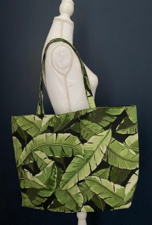 Tropical Palm Tote available on Etsy